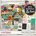 Stay Weird Bundle by Amanda Yi & Studio Basic Designs