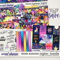 These Summer Nights Bundle by Digital Scrapbook Ingredients