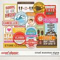 Cruel Summer Signs by LJS Designs