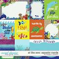 At the Zoo: Aquatic Cards by Meagan's Creations