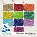 At the Zoo: Aquatic Glitters by Meagan's Creations
