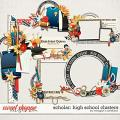 Scholar: High School Clusters by Meagan's Creations