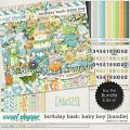 Birthday Bash: Baby Boy {Bundle} by Digilicious Design