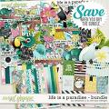 Life is a paradise: bundle by Amanda Yi & WendyP Designs