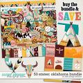 50 States: Oklahoma Bundle by Kelly Bangs Creative