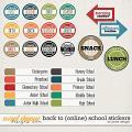 Back to (online) School Stickers by JoCee Designs