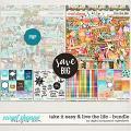 Take It Easy & Live The Life Bundle by Digital Scrapbook Ingredients