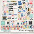 School Daze Stickers by Traci Reed