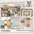 I Will Remember You Bundle by LJS Designs