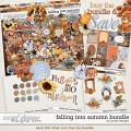 Falling into Autumn Bundle with FWP Glitter by JoCee Designs