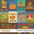 Pumpkin Palooza Cards by Clever Monkey Graphics