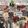 Keep the Faith by lliella designs