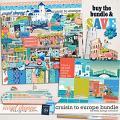 Cruisin to Europe Bundle by Kelly Bangs Creative