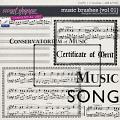 Music Brushes {Vol 01} by Christine Mortimer