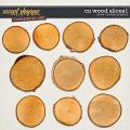CU Wood Slices 1 by Clever Monkey Graphics