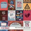 This Teenage Life {cards} by Blagovesta Gosheva