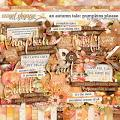An Autumn Tale: Pumpkins Please by Kristin Cronin-Barrow