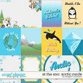 At the Zoo: Arctic Cards by Meagan's Creations