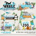 At the Zoo: Arctic Word Art by Meagan's Creations