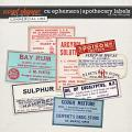 CU EPHEMERA | APOTHECARY LABELS by The Nifty Pixel