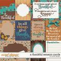 A Thankful Season Cards by JoCee Designs