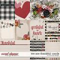 We Are Thankful: Cards by River Rose Designs