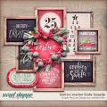 festive market finds boards: simple pleasure designs by jennifer fehr