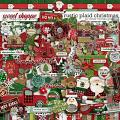 Rustic Plaid Christmas By Clever Monkey Graphics