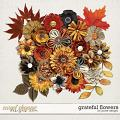 Grateful Flowers by JoCee Designs