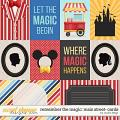 Remember the Magic: MAIN STREET- CARDS by Studio Flergs