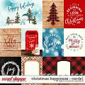 Christmas Happiness | Cards1 by Digital Scrapbook Ingredients