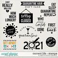 Current Life | Stamps by Digital Scrapbook Ingredients