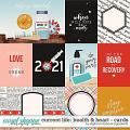 Current Life: Health & Heart | Cards by Digital Scrapbook Ingredients