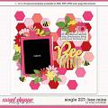Cindy's Layered Templates - Single 227: Bee Mine by Cindy Schneider