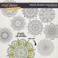 CU Hand-Drawn Mandalas by Tracie Stroud