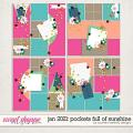 January 2021: Pockets Full of Sunshine Layered Pocket-Style Templates by Southern Serenity Designs