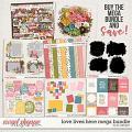 Love Lives Here Mega Bundle by LJS Designs