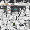 Purrfect Kitty Doodles by Clever Monkey Graphics