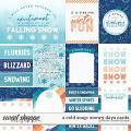 A Cold Snap: Snowy Days Cards by Kristin Cronin-Barrow