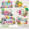 Fun Run Word Art by Meagan's Creations
