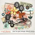 YOU'VE GOT WINGS | BITS & BOBS by The Nifty Pixel