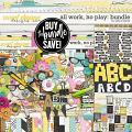 All Work, No Play Bundle by Erica Zane