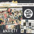 Anxiety Awaits: Bundle by Erica Zane