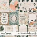 My Favorite Hello: Cards by River Rose Designs