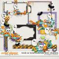 Trick or Treat From Six Feet: Clusters by Meagan's Creations