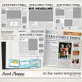 In the News Templates by Misty Cato