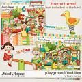 Playground Buddies by lliella designs