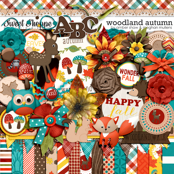 Woodland Autumn by Megan Mullens & Amber Shaw