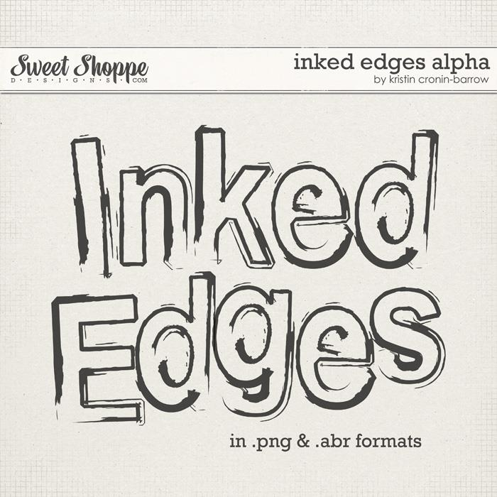 Inked Edges Alpha by Kristin Cronin-Barrow
