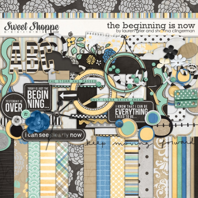 The Begining is Now by Lauren Grier and Shawna Clingerman